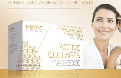 MIKEDA ACTIVE COLLAGEN  5000 - napitek mladosti!